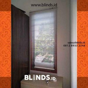 contoh venetian blinds aluminium slat 25mm project di Cipayung id4236