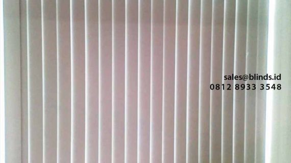 Contoh Vertical Blinds Blackout Onna Di Metro Park Residence