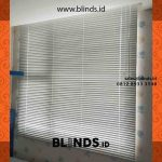 Horizontal Blinds Aluminium Apartment Royal Olive Warung Buncit
