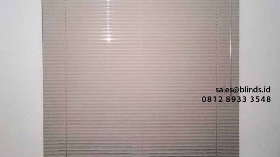 Pasang Tirai Horizontal Deluxe Slatting Puri Bintaro Residence