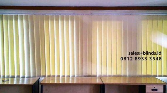 Contoh Tirai Untuk Kantor Gedung Bulog Gatot Subroto