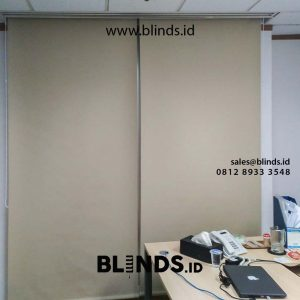 gambar roller blinds blackout superior startfish di sudirman id4278