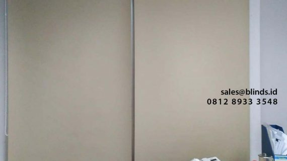 Gambar Roller Blinds Blackout Superior Mayapada Tower Sudirman