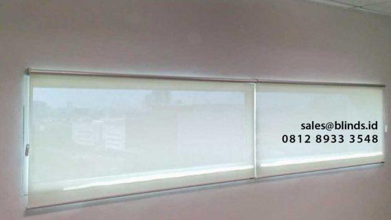 Bahan Solar Screen Roller Blinds SpringHill Office Jakarta Pusat