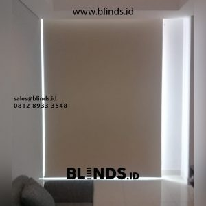 contoh roller blinds onna bahan blackout id4546