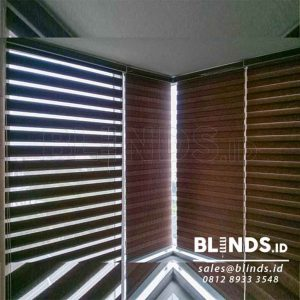 model zebra blinds dengan warna custom