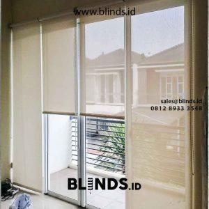 jual roller blinds bahan solar screen merk sharp point