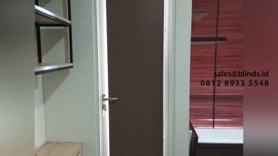 Jual Roller Blinds Custom Untuk Klien Di Apartemen Menteng Park Cikini