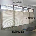 Tirai Venetian Blinds Deluxe Slatting Project Kawasan KBN Marunda