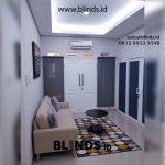 Contoh Roller Blinds Solar Screen Kombinasi Warna Di Pengadegan Utara Pancoran