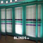 Contoh Venetian Blinds Kombinasi Warna Project Papanggo Tanjung Priok
