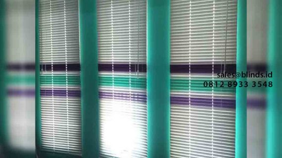 Contoh Venetian Blinds Kombinasi Warna Project Papanggo Tanjung Priok