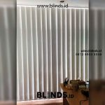 Jual Vertical Blind Merk Sharp Point Djajakusumah Residence BSD