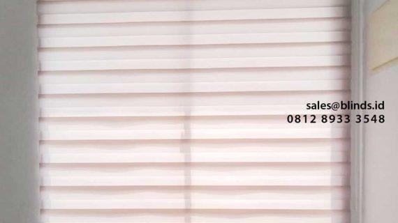 Contoh Zebra Blinds Curtain Greenlake City cluster Australia Tangerang