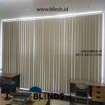 Pemasangan Tirai Vertical Blinds Blackout Kalideres Jakarta Barat