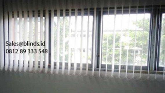 Contoh Gorden Kantor Tarik Dimout Light Grey Pasang Di Pondok Pinang Kebayoran Lama