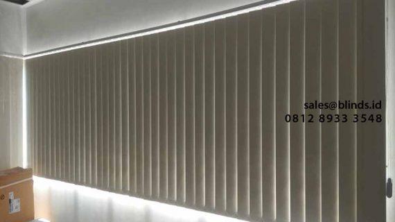 Contoh Gorden Jendela Kantor Blackout Komplek Kawasan Pergudangan Central Cakung