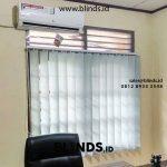Review Tirai Kantor Vertical Blinds Klien Gandaria Selatan Jakarta Selatan