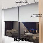 55+ Portofolio Tirai Roller Blinds Warna Grey