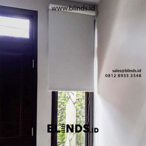 Roller blind Blackout Super Quality Grey id5346