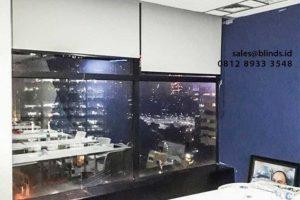 Jual Roller Blinds Murah Bahan Blackout id4334