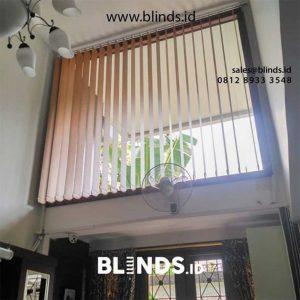 Custom Tirai Kantor vertical blinds ID5012