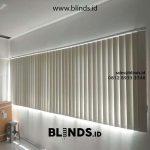 Jual Vertical blinds Semi blackout ID5478