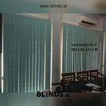 Vertical Blinds Semi Blackout Sp 5448 -12 Blue Kebon Bawang Tanjung Priok Jakarta