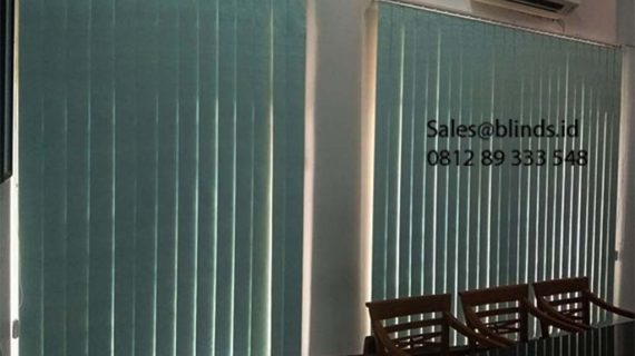 Vertical Blinds Semi Blackout Sp 5448 -12 Blue Kebon Bawang Tanjung Priok Jakarta