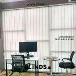68+ Portofolio Vertical Blinds Sp 8005-6 Grey Tirai Modern