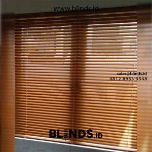 Jual Venetian Blinds Sp 212 M Coklat Perumahan Carina Townhouse Cengkareng Jakarta id5514
