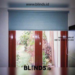 Roller Blinds Blackout Sp 6045-4 Green Kompleks Warga Indah Pejaten Barat Pasar Minggu id4985