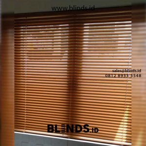 Venetian Blinds Sp 212 M Coklat id5514