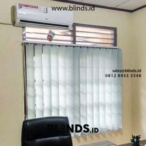 Vertical Blinds Dimout Sp 6044-3 Grey Gandaria selatan Cilandak Jakarta id5247
