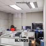 Jual Roller Blinds Solar Screen Sp 2600-10 Green + Cream Rasuna Said Setiabudi Jakarta