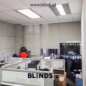 Jual Roller Blinds Sp 2600-10 Green + Ceream Rasuna Said Setiabudi Jakarta id5015