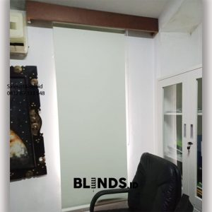 Roller Blinds Blackout Sp 6077-2 Coconut Mega Kuningan Setiabudi Jakarta id6055