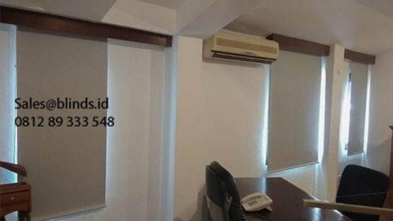 Jual Roller Blinds Blackout Sp 6045-3 Warna Grey Mega Kuningan Setiabudi Jakarta