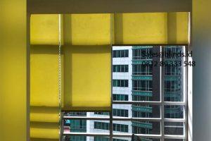 Jual Roller Blinds Dimout Sp 202-5 Dark Yellow Sahid Sudirman Residence Tanah Abang Id5617