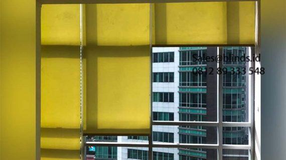 Jual Roller Blinds Dimout Sp 202-5 Dark Yellow Sahid Sudirman Residence Tanah Abang