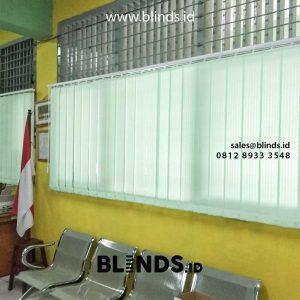 Pusat Jual Vertical Blinds Lengkap Berbagai Pilihan Bahan & Warna Id5686