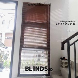 Wooden Blinds Tropocal Hard Wood 27mm Sp 03 WB id5059