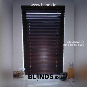 Wooden Blinds Untuk Jendela Lebih Menarik dan Natural id4908