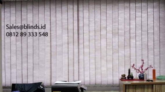 Harga Vertical Blinds Sesuai Bahan & Series