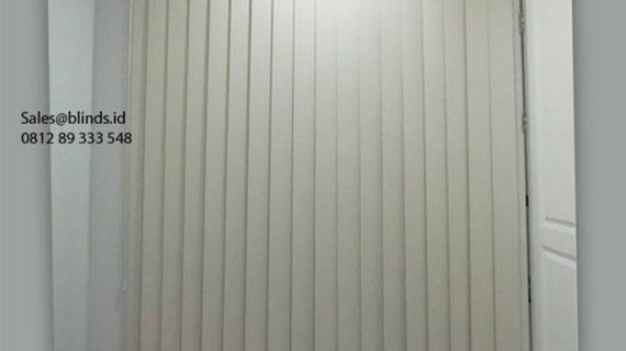 Jual Vertical Blinds Blackout Sp 200-2 Beige Taman Kedoya Baru Residence Kebon Jeruk