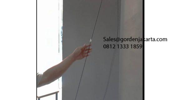 Roller Blinds Blackout Sp 6044-4 Dark Grey Pasang Kesehatan Raya Pesanggrahan