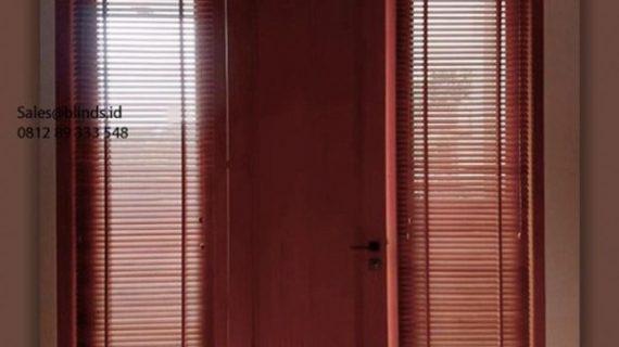Jual Wooden Blinds Sp 01 Teak Palem Indah Pondok Pucung Pondok Aren