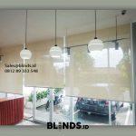 Roller Blinds Solar Screen Sp 4000-1 Beige Aeropolis Apartment Neglasari Tangerang