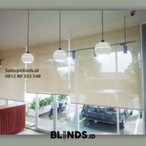 Roller Blinds Solar Screen Sp 4000-1 Beige Aeropolis Apartment Neglasari Tangerang Id5978