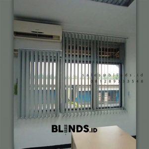 Vertical Blinds Blackout Sp 6045-3 Grey Wanaherang Gunung Putri Bogor ID6399